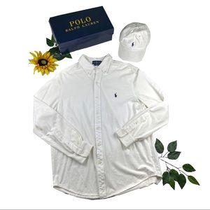 Ralph Lauren Polo Featherweight MESH Button shirt